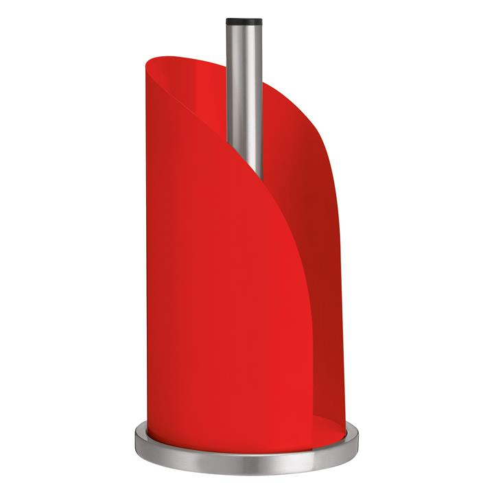 Avanti Enameled Steel Paper Towel Dispenser - Red