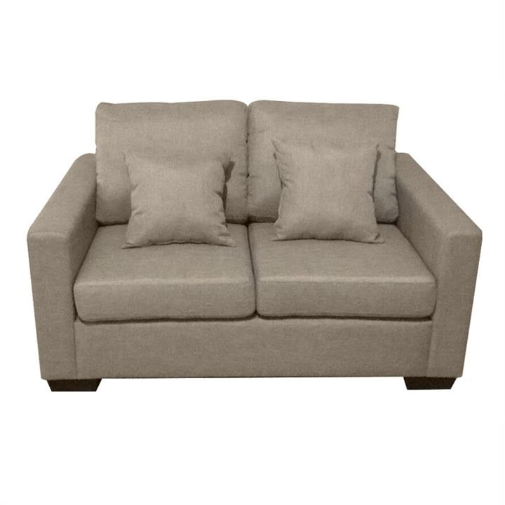Club Fabric 2 Seater Sofa - Taupe