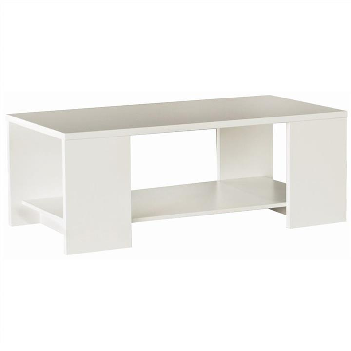 Cue 120cm Coffee Table - White