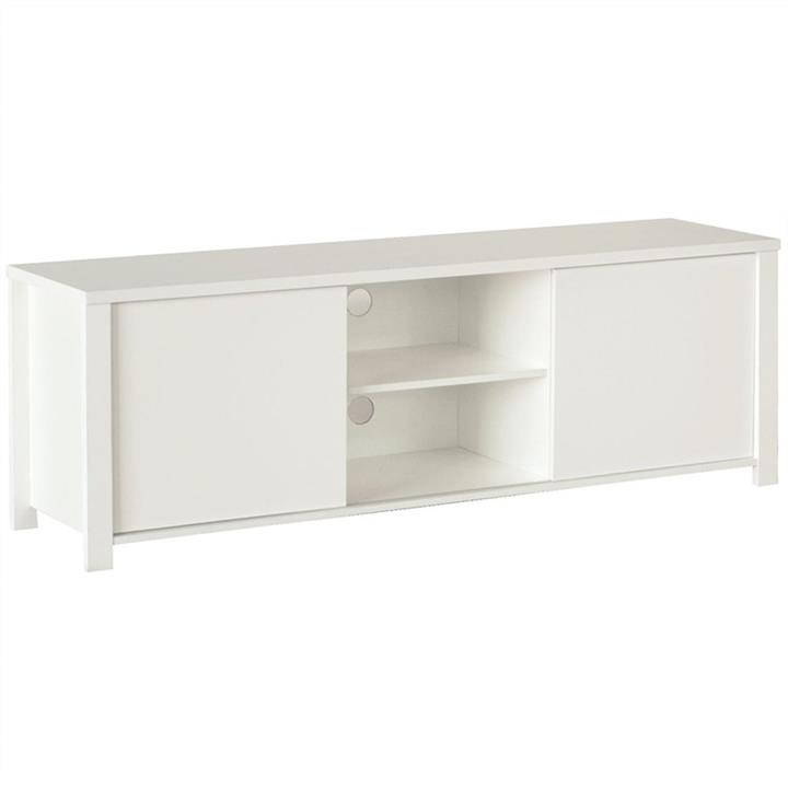 Cue 2 Door 160cm TV Stand - White
