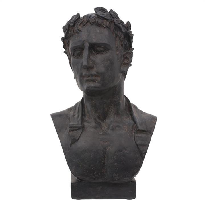 Augustus Bust Resin Figurine