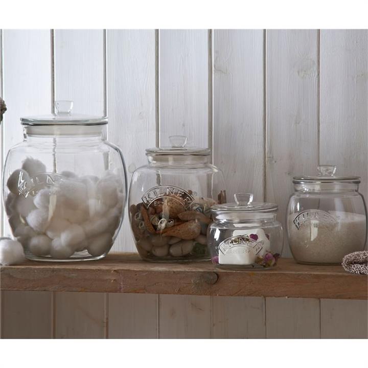 Kilner Universal Push Top Storage Jar - 4 Litre