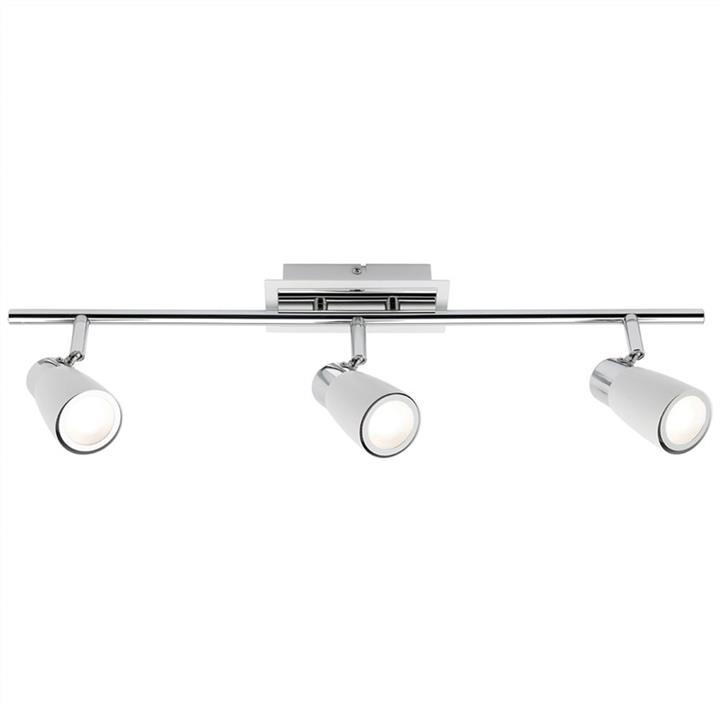 Alecia 3 Light Spotlight Bar, White