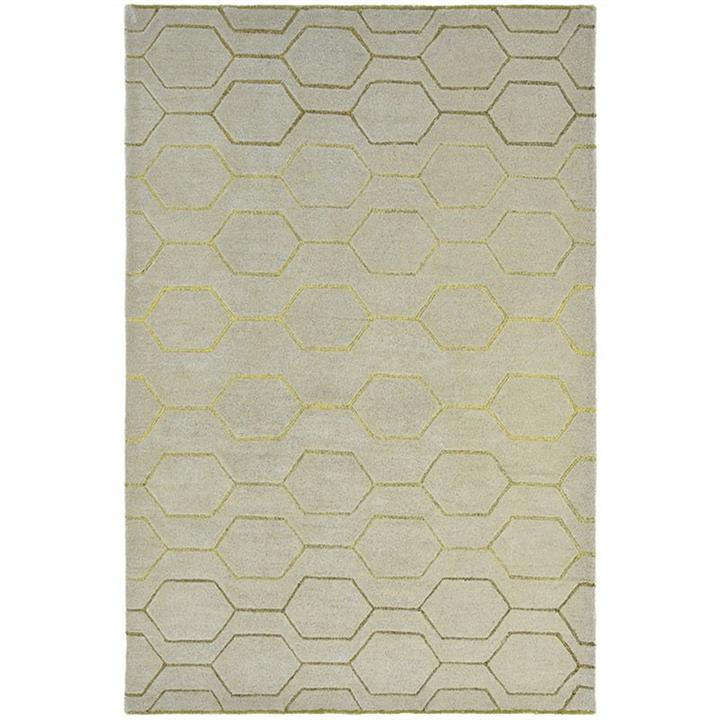 Wedgwood Arris Hand Tufted Designer Wool Rug, 240x170cm, Grey