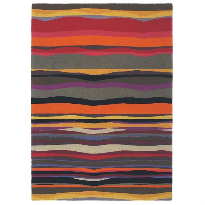 Brink and Campman Estella Summer Hand Tufted Wool Rug, 280x200cm, Sunset