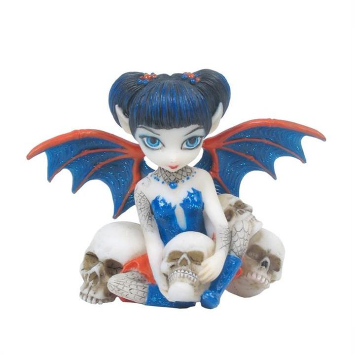 Jasmine Becket-Griffith's Strangeling Fairies Figurine, Spider  Skull
