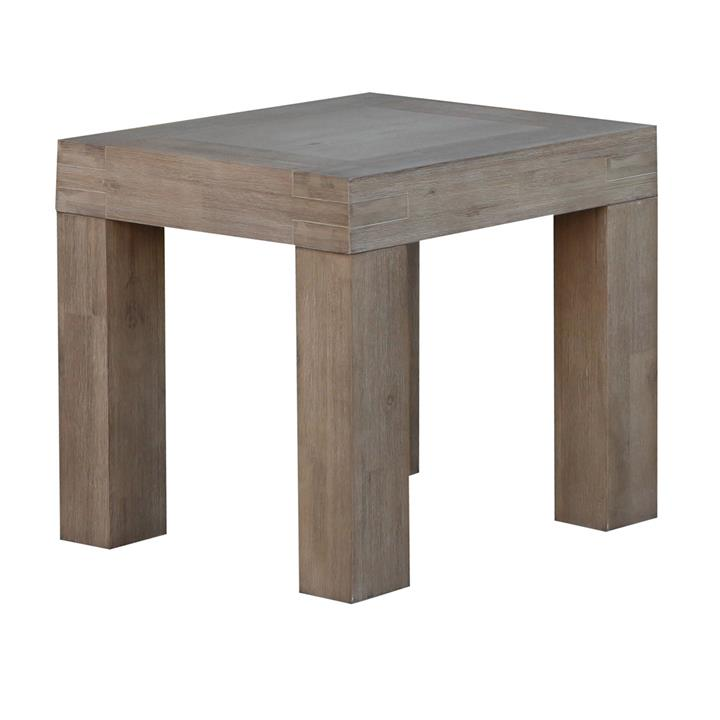 Albergo Acacia Timber Lamp Table
