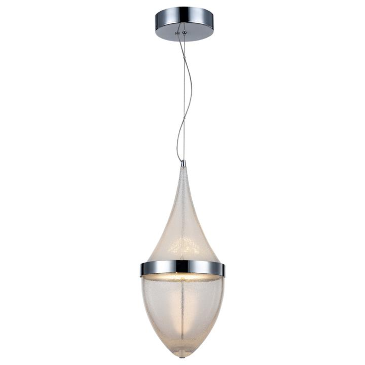 Rico Micro Bubble Glass LED Pendant Light, Large
