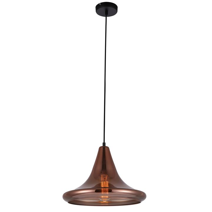 Lamina Glass Pendant Light, Flat