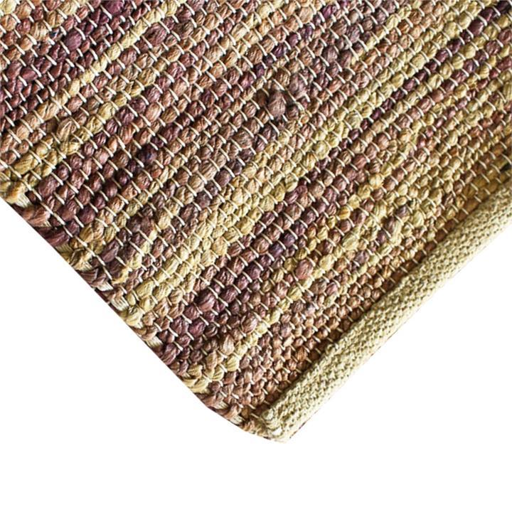 Arani Handwoven Jute Rug, 300x200cm, Brown / Natural