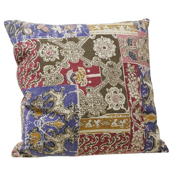 Babylon Cushion - Cotton Linen