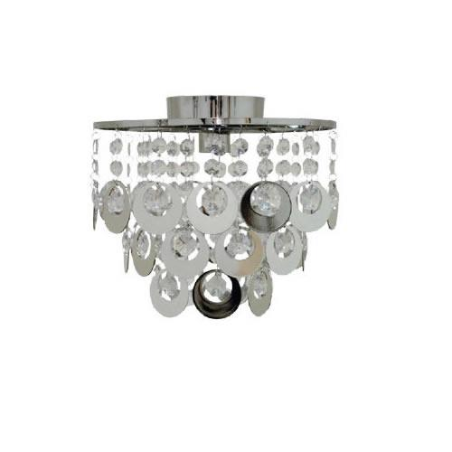 Aries DIY Metal Droplet Batten Fix Ceiling Light