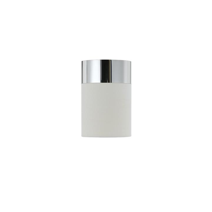 Akira Batten Fix Ceiling Light, White / Chrome