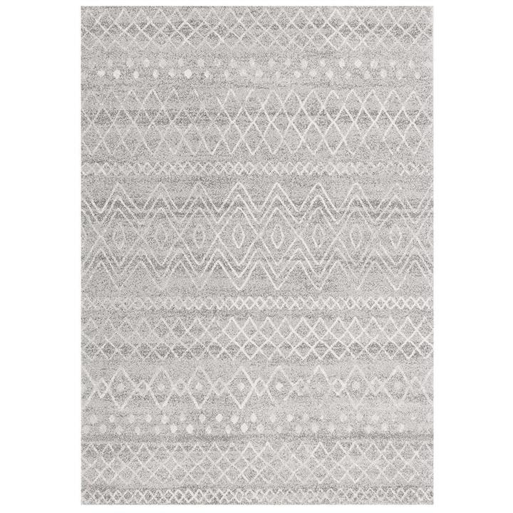 Oasis Nadia Tribal Rug, 240x330cm, Grey