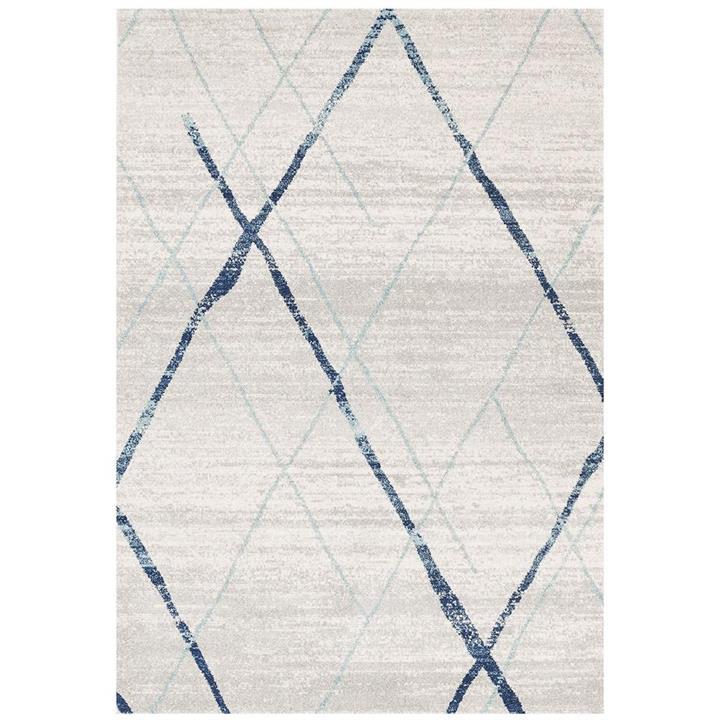 Oasis Noah Modern Rug, 300x400cm, Blue