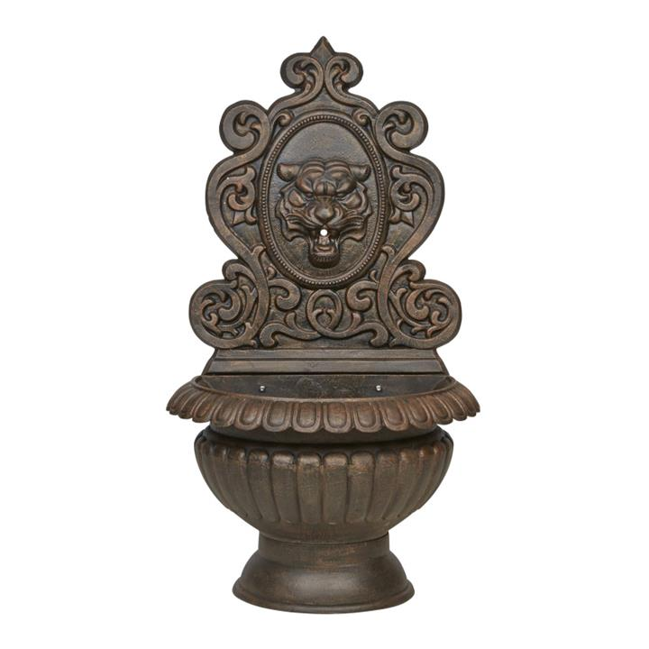 Anderson Cast Iron Garden Wall Fountain