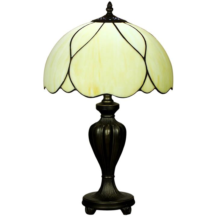 Berit Tiffany Stained Glass Table Lamp, Small