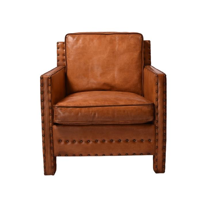 Image of Affinity Furniture Brigette Leather Armchair