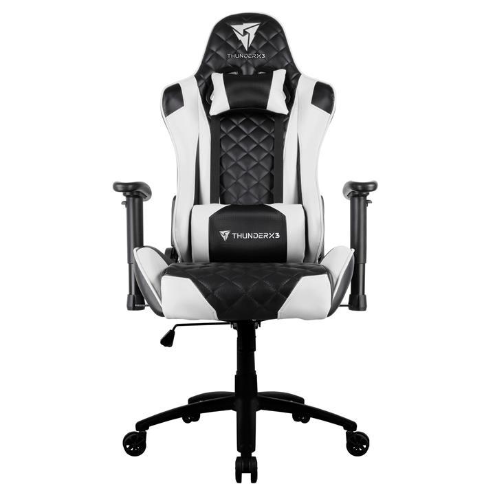 ThunderX3 TGC12 Gaming Chair, Black / White