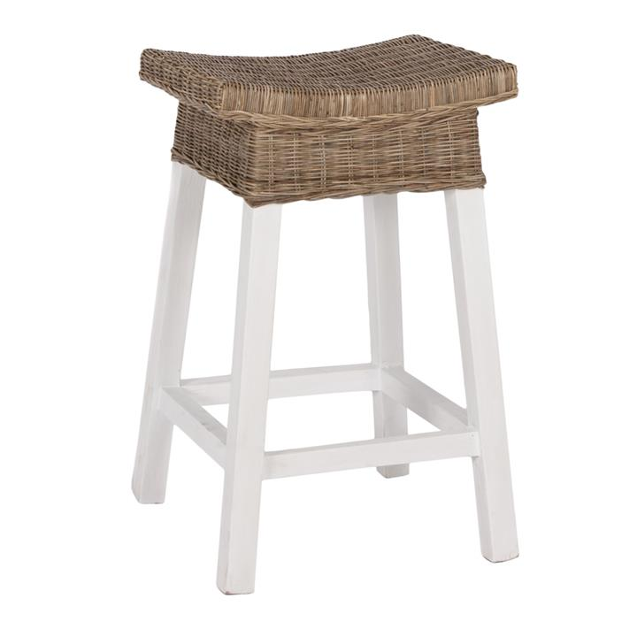 Albany Wicker  Timber Counter Stool
