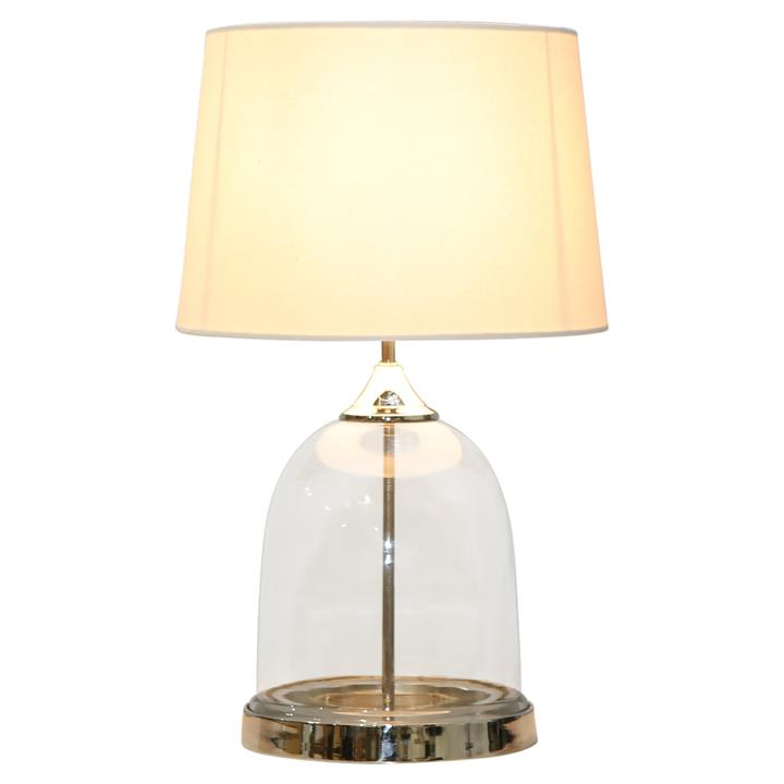 Arias Glass Base Table Lamp