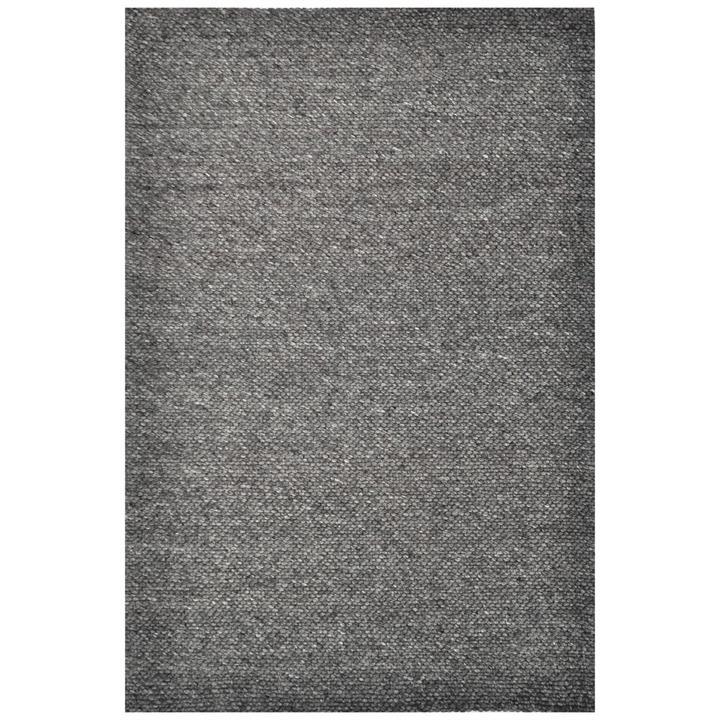 Adelaid Handwoven Wool Rug, 110x160cm, Charcoal