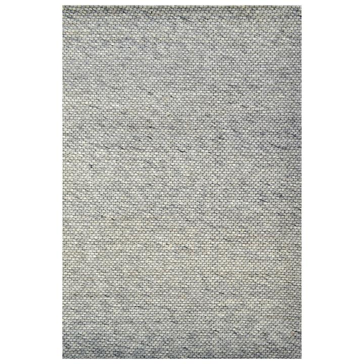 Adelaid Handwoven Wool Rug, 190x280cm, Silver
