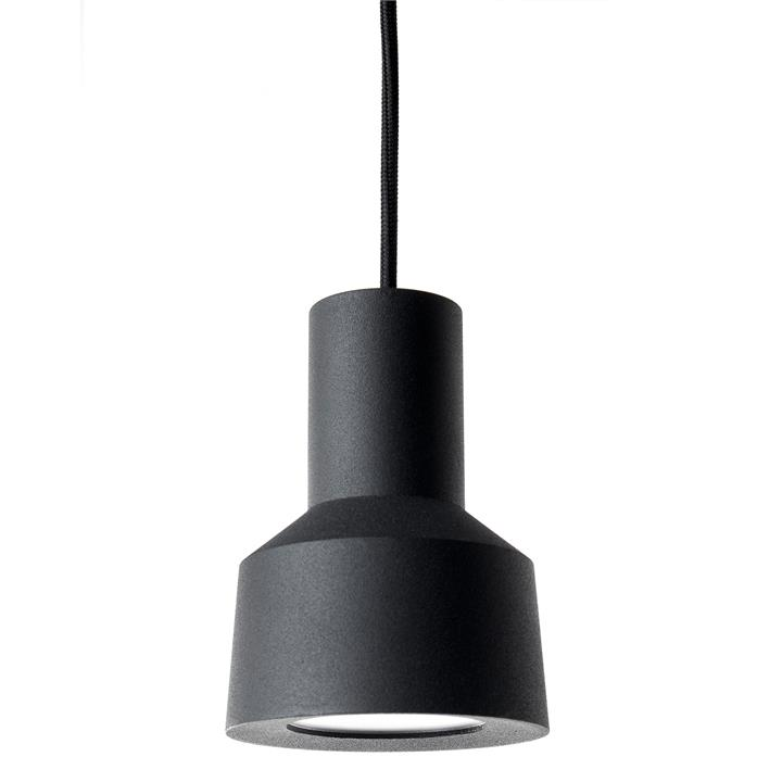 Neuron LED Metal Pendant Light, Black