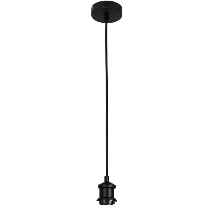 Albany Pendant Light Cord Suspension, Black