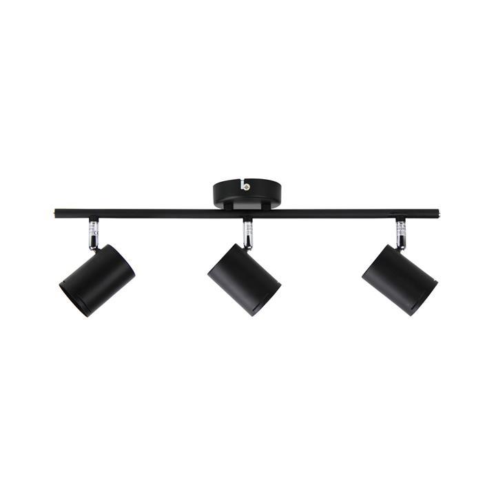 Baril Spotlight, 3 Light, Black