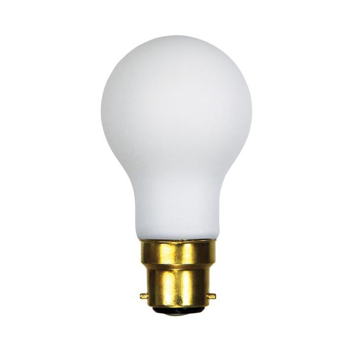 Allume Dimmable LED Opal Matt Globe, B22, 2700K, A60 Shape