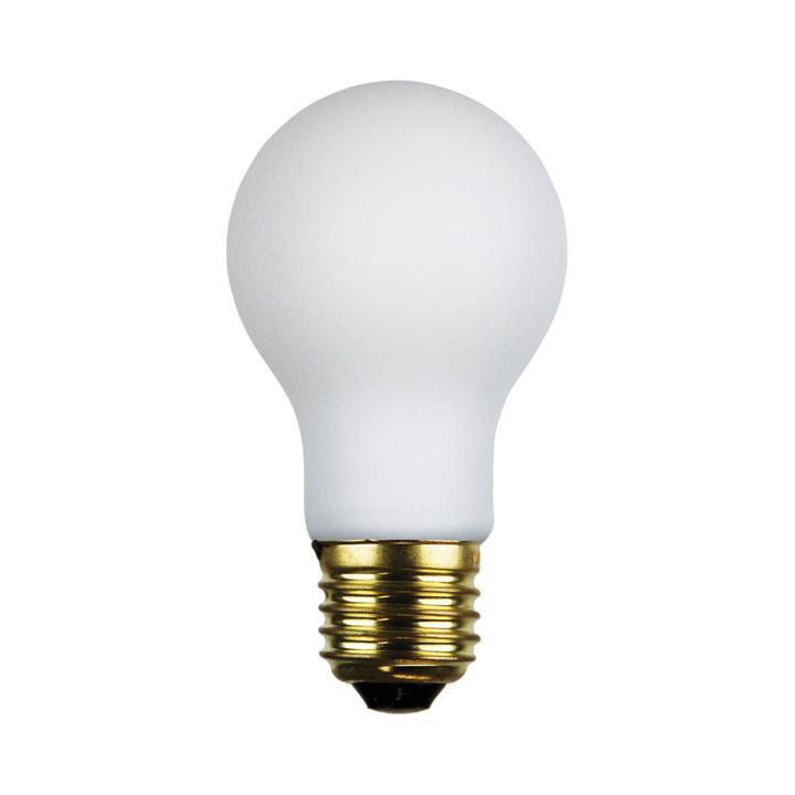 Allume Dimmable LED Opal Matt Globe, E27, 4000K, A60 Shape