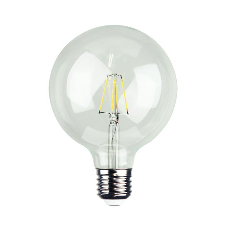 Allume Dimmable LED Filament Globe, E27, 2700K, G95 Shape