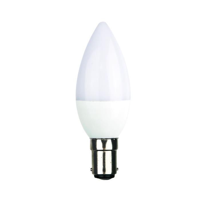Allume C37 LED Globe, B15, 4000K, Opal