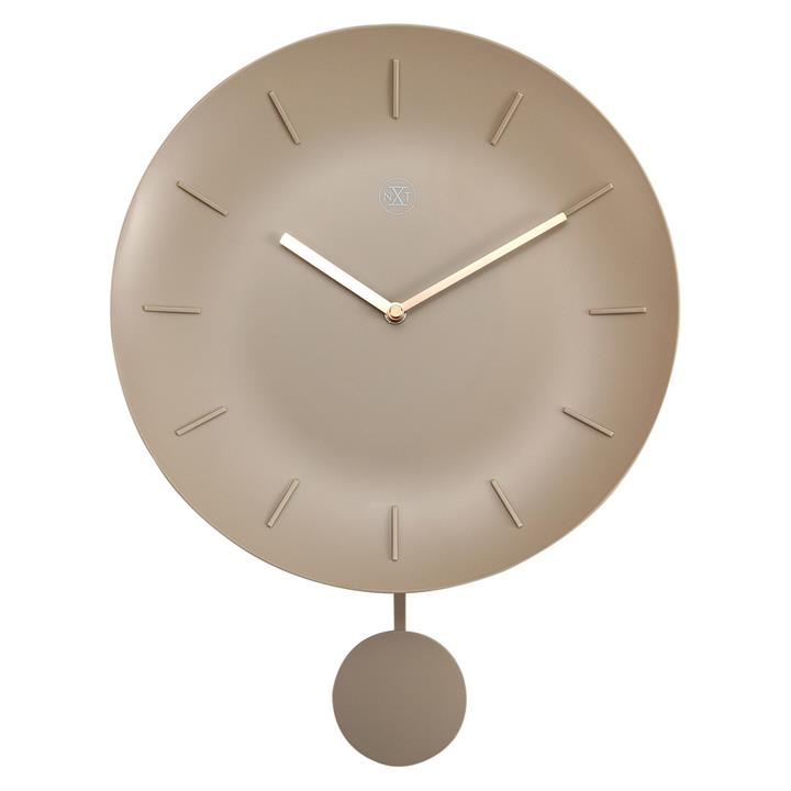 NeXtime Bowl Wall Clock, 30cm, Off White