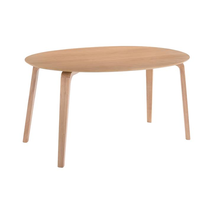 Betty Timber Oval Dining Table,150cm