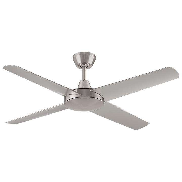 "Threesixty Aspire Ceiling Fan, 132cm/52"", Brushed Nickel"