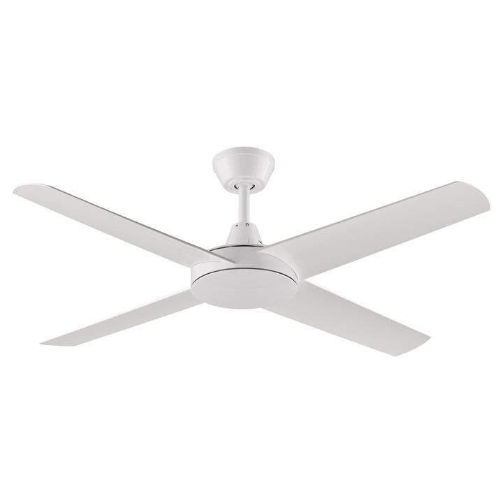 "Threesixty Aspire Ceiling Fan, 132cm/52"", White"