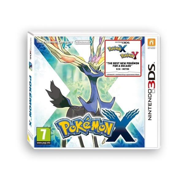 Image of Pokemon X 3DS Game