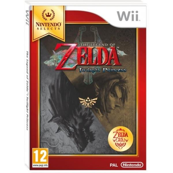 Image of The Legend Of Zelda Twilight Princess (selects) Game Wii