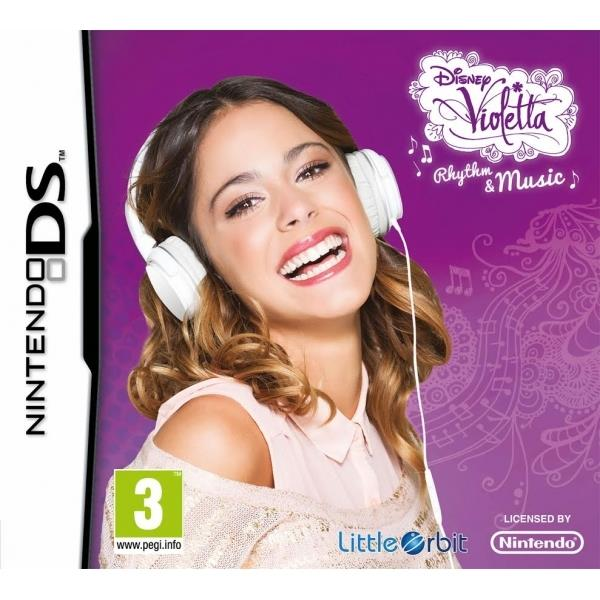 Image of Disney Violetta Rhythm and Music DS Game