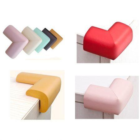 Image of 10 PCS Baby Kids Safety Anticollision Edge Corner protection Guards Cushions Bumper Coffee
