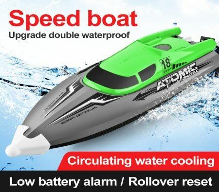 Image of 2.4GHz Rc Boat 30Km/h High-Speed 50 Meters Remote Control Boat Double Seal