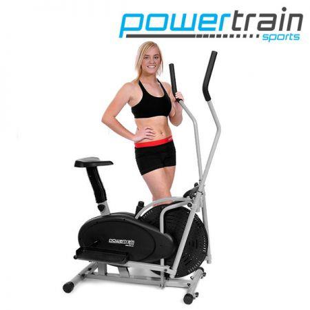 Image of Powertrain 2-in-1 Elliptical Cross Trainer and Exercise Bike