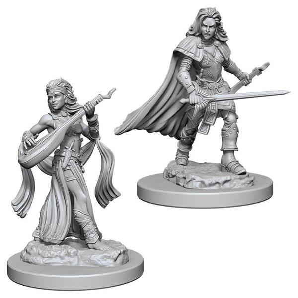 Image of Pathfinder Deep Cuts Unpainted Miniatures (W4) - Human Female Bard