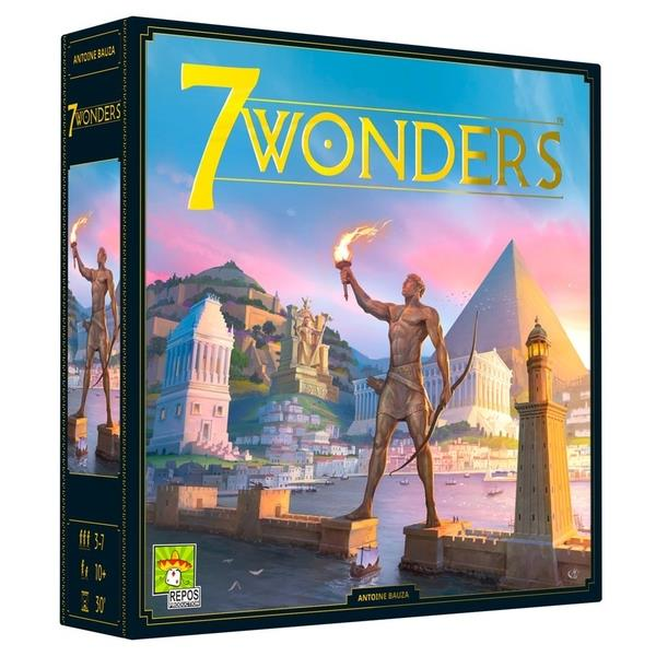 Image of 7 Wonders (2nd Edition) Board Game