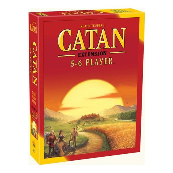 Image of Catan 5-6 Extension For 5-6 Players (2015 Edition) Board Game