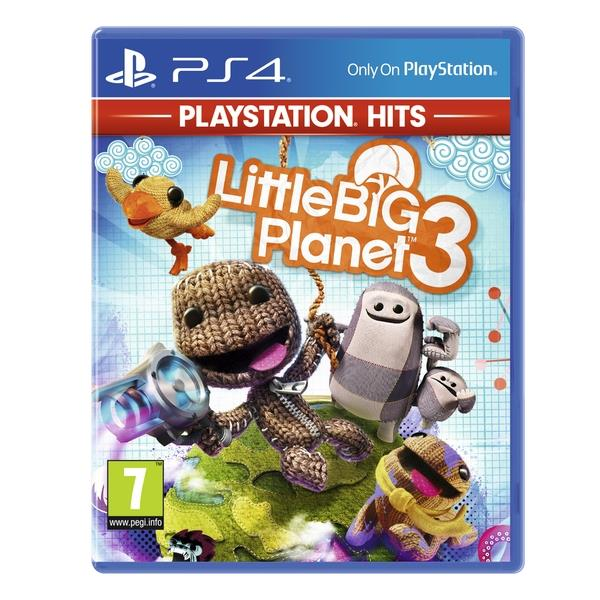 Image of Little Big Planet 3 PS4 Game (playstation Hits)