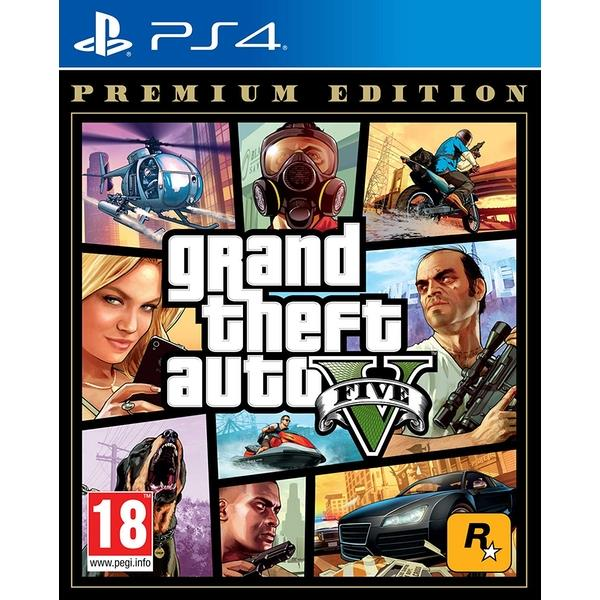 Image of Grand Theft Auto V Premium Edition PS4 Game