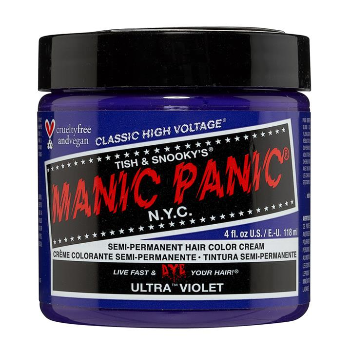 Image of Manic Panic Hair Color Ultra Violet 118ml